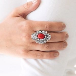 paparazzi Jewelry - Free with Bundle Basic Element Ring Red